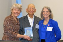Anne-Marie Carlson, Amb. Abbadi and Kathryn De Lawter