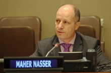 Maher Nasser,  UN Department of Public Information
